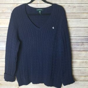 RL Cable Knit Sweater
